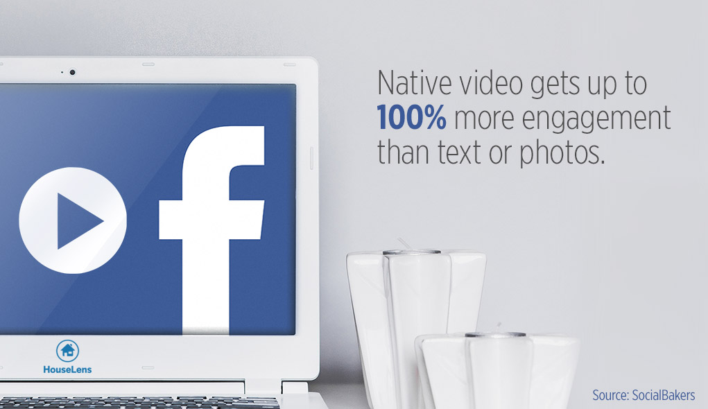 Facebook video double engagement