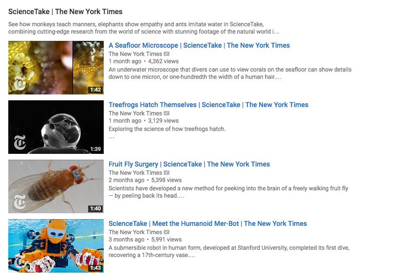 NYT YouTube