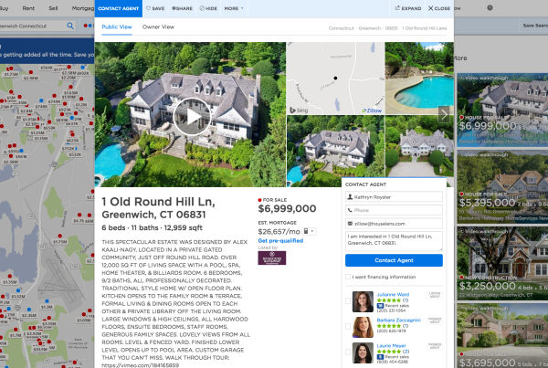 Zillow walkthroughs