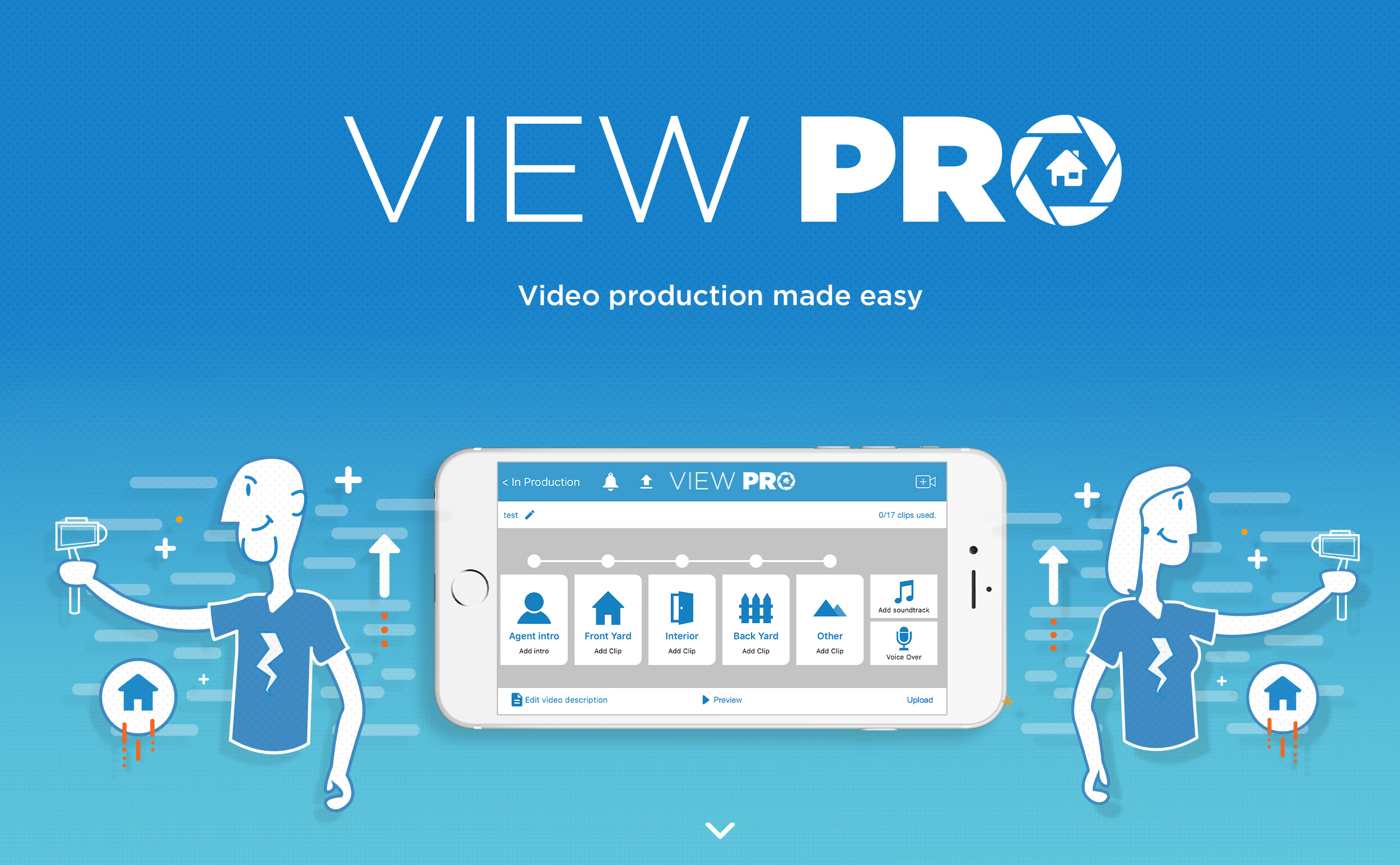View Pro Real Estate Video App Available to All MarketPlace, ArtistPro Photographers