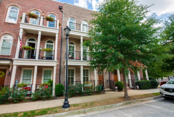 Lawrenceville rowhouse