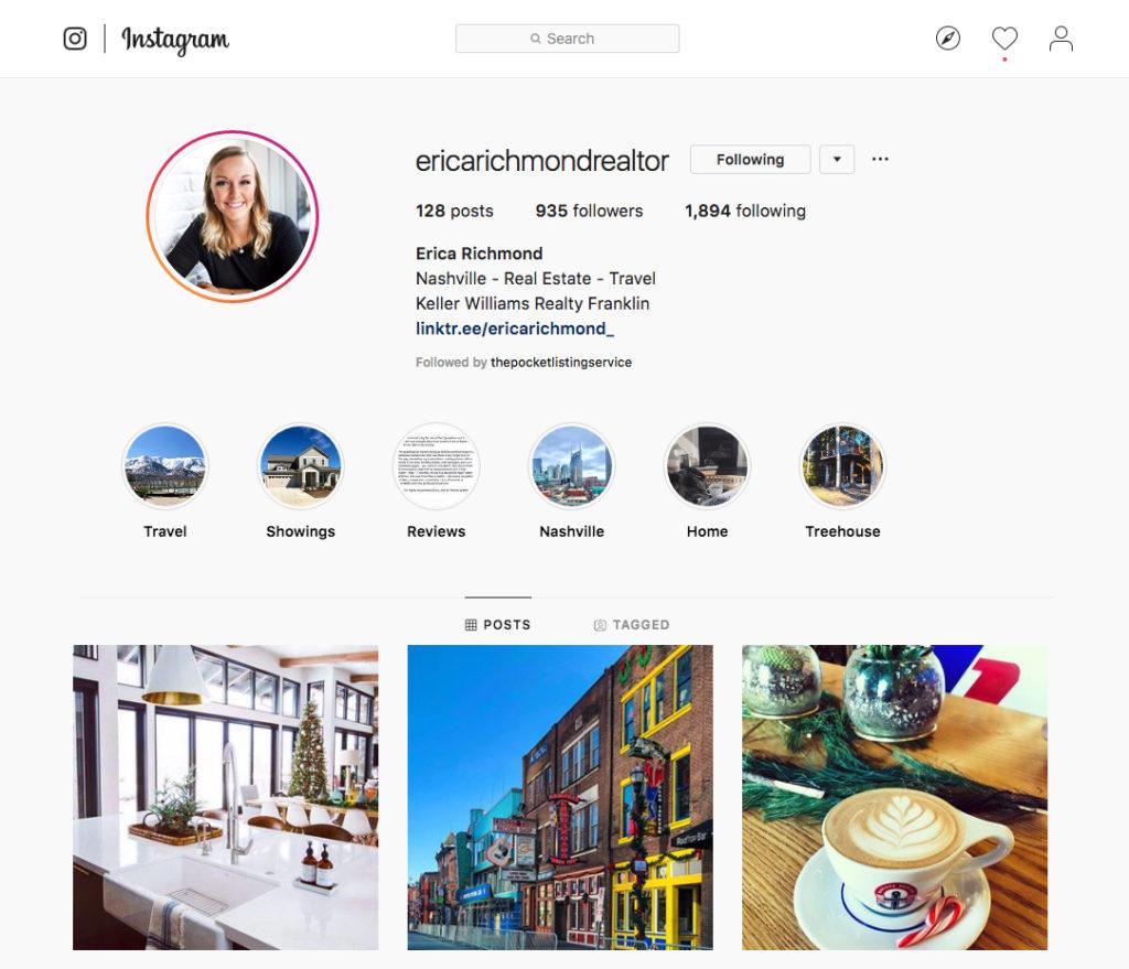 Erica Richmond Instagram marketing