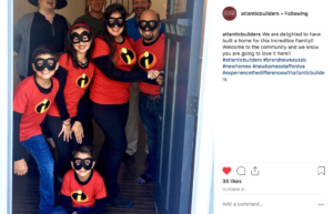 Atlantic Builders Instagram marketing